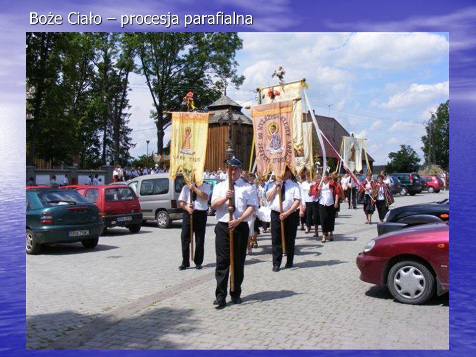 Boże Ciało – procesja parafialna
