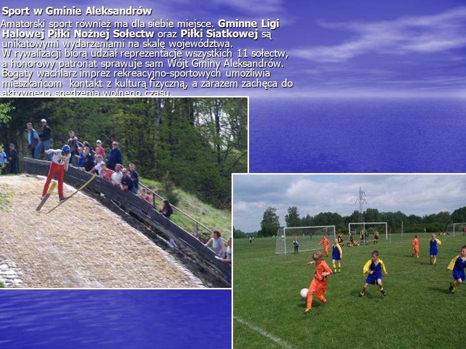 Sport w Gminie Aleksandrów Amatorski sport również ma dla siebie miejsce.
