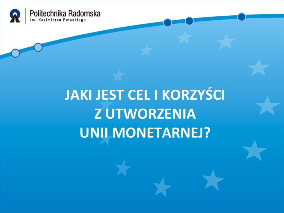 Oznacza to m.in., że : –polityka ekonomiczna Polski, w tym kursowa, uznana została za przedmiot wspólnego zainteresowania i koordynacji w ramach Rady Europejskiej; –Polska jest zobowiązana do utrzymania dyscypliny finansowej sprowadzającej się do spełnienia kryteriów stabilizacji fiskalnej, określonych w Traktacie o Unii Europejskiej z Maastricht oraz w Pakcie Stabilizacji i Wzrostu; –Narodowy Bank Polski wszedł do Europejskiego Systemu Banków Centralnych (ESBC), zaś jego prezes stał się członkiem Rady Dyrektorów Europejskiego Banku Centralnego (EBC).