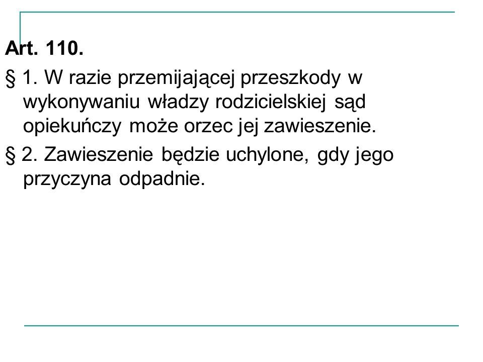 Art. 110. § 1.