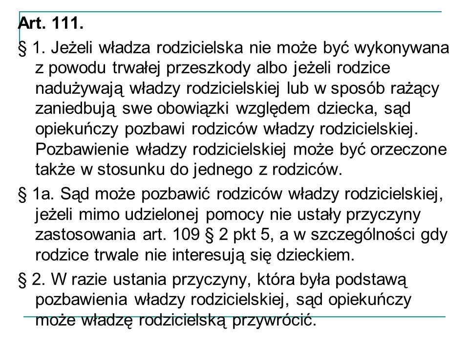 Art. 111. § 1.