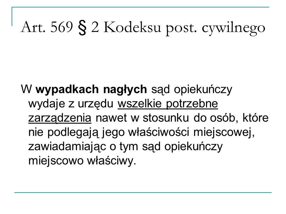 Art. 569 § 2 Kodeksu post.
