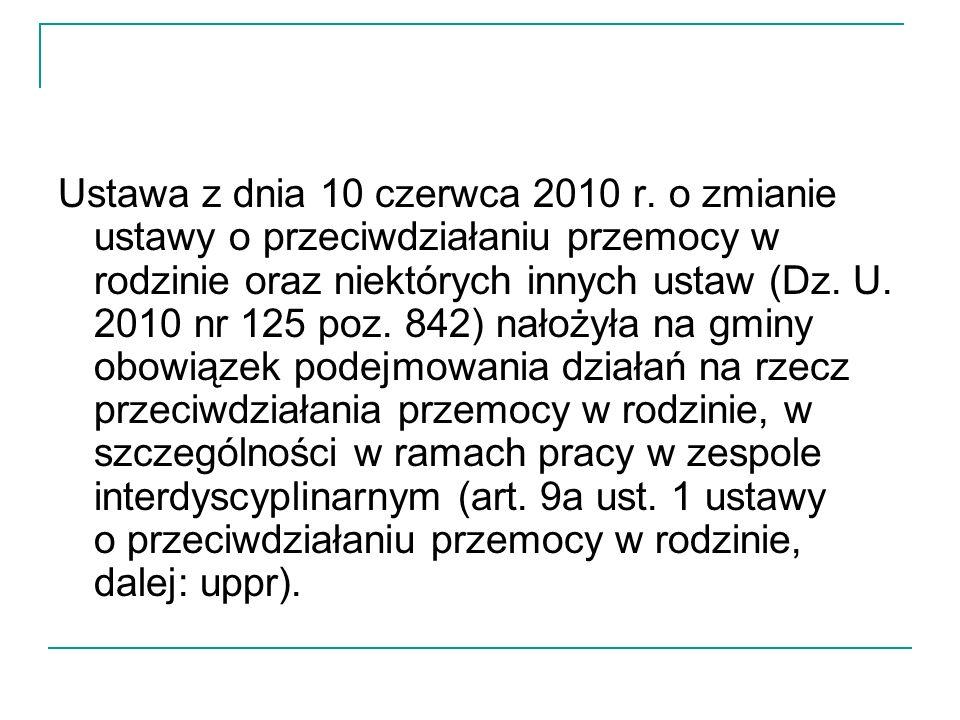 Ustawa z dnia 10 czerwca 2010 r.
