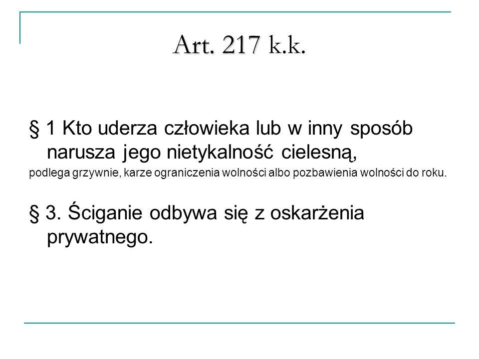 Art. 217 Art. 217 k.k.
