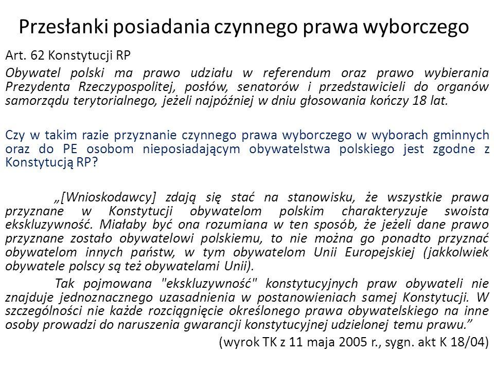Weryfikacja ważności wyników wyborów samorządowych Protesty wyborcze: a)w 14 dni od dnia wyborów b)podstawa – mające wpływ na wynik wyborów:  przestępstwo przeciwko wyborom  naruszenie przepisów kodeksu wyborczego c)rozpoznawane przez sąd okręgowy w 30 dni od upływu terminu na wnoszenie (w składzie 3 sędziów) d)w razie stwierdzenia nieważności – dopuszczalna apelacja do sądu apelacyjnego e)w razie braku protestów – domniemanie ważności (nie rozstrzyga się w ogóle o ważności)