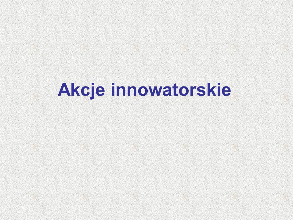 Akcje innowatorskie