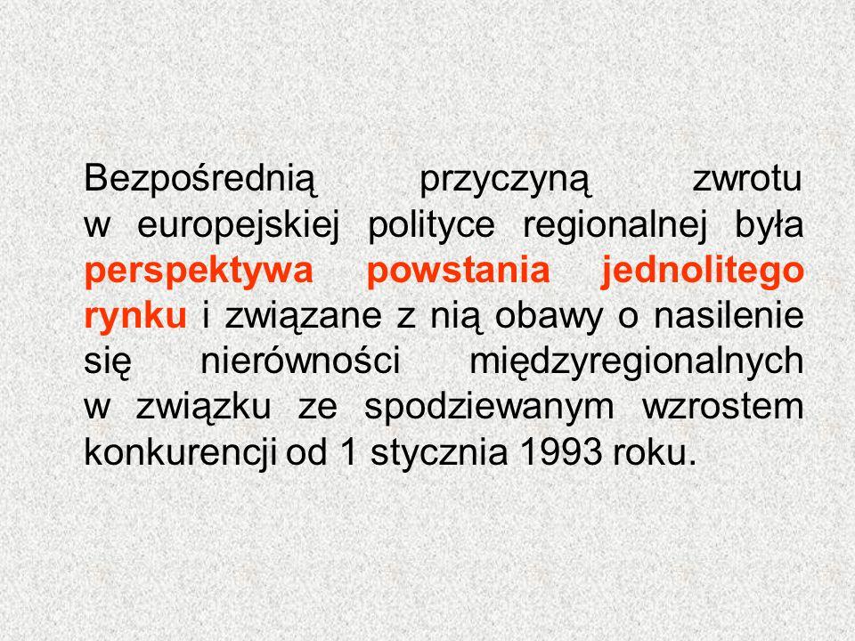 Ograniczone efekty polityki spójności tłumaczy się tym, że zmiany strukturalne wymagają dłuższego czasu i ogromnych nakładów.