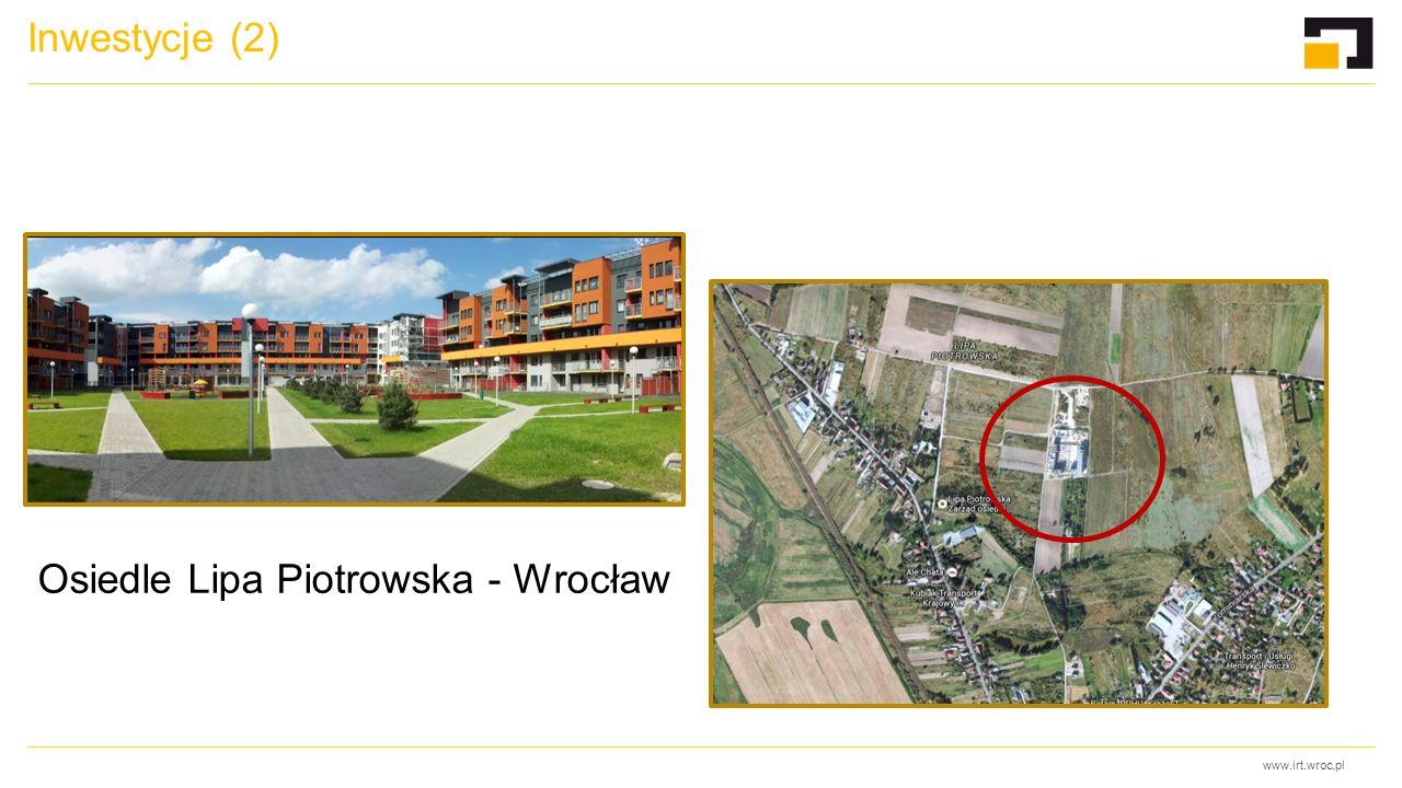 www.irt.wroc.pl Inwestycje (2) Osiedle Lipa Piotrowska - Wrocław