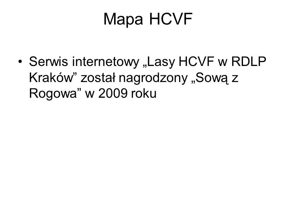 """Serwis internetowy """"Lasy HCVF w RDLP Kraków"""" został nagrodzony """"Sową z Rogowa"""" w 2009 roku"""
