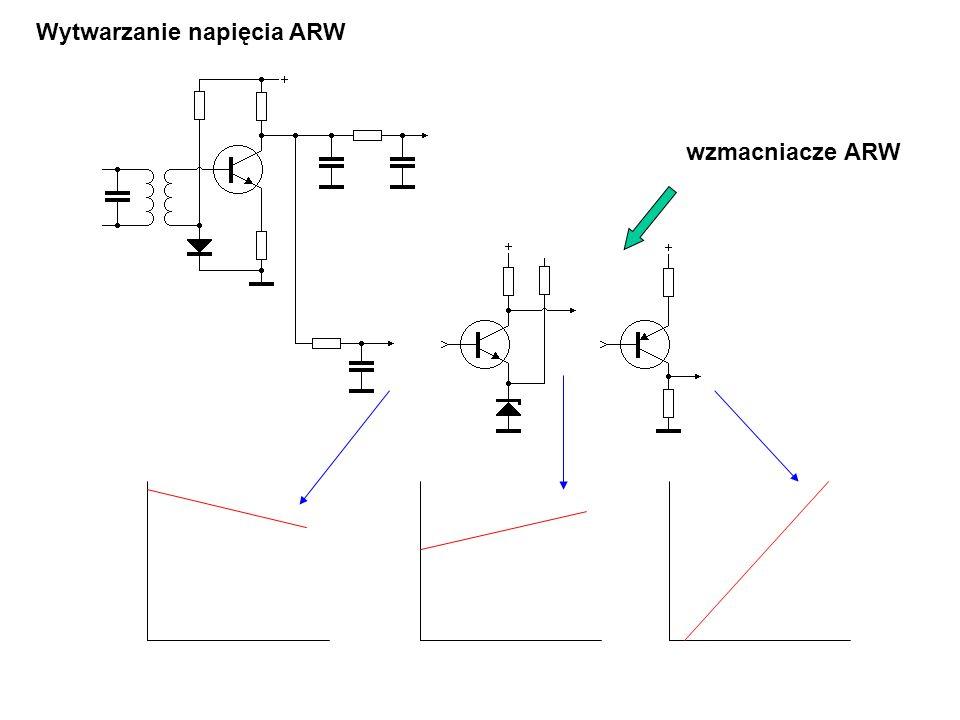 Wytwarzanie napięcia ARW wzmacniacze ARW