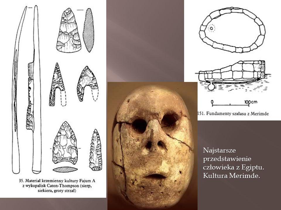 Najstarsze przedstawienie człowieka z Egiptu. Kultura Merimde.