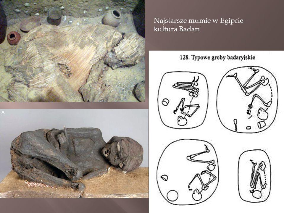 Najstarsze mumie w Egipcie – kultura Badari