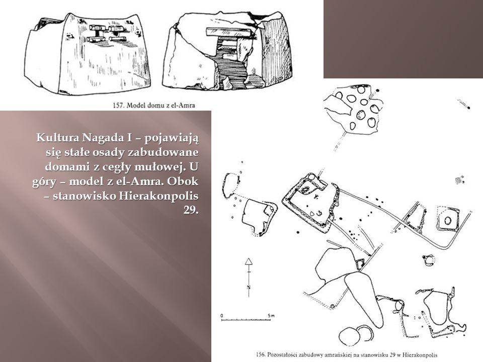 Kultura Nagada I – pojawiają się stałe osady zabudowane domami z cegły mułowej.