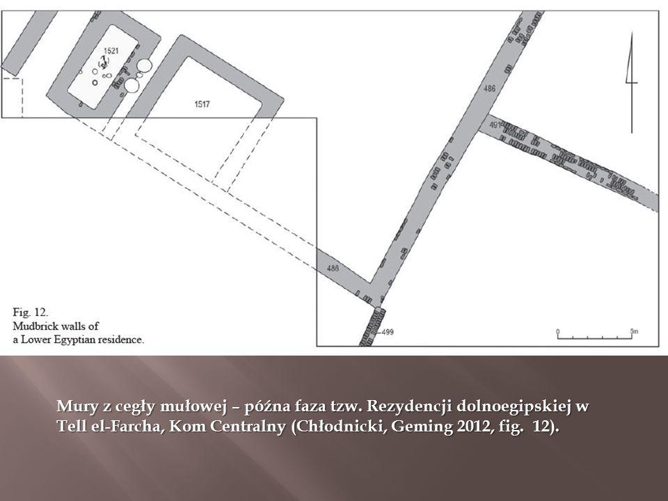 Mury z cegły mułowej – późna faza tzw.