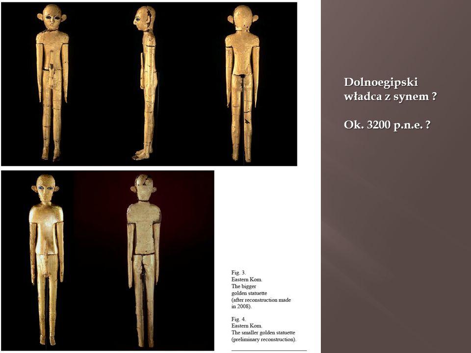 Dolnoegipski władca z synem ? Ok. 3200 p.n.e. ?