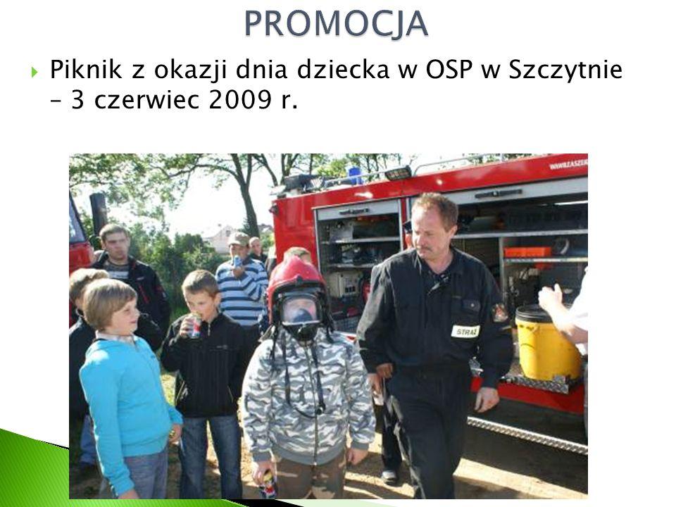  Piknik z okazji dnia dziecka w OSP w Szczytnie – 3 czerwiec 2009 r.