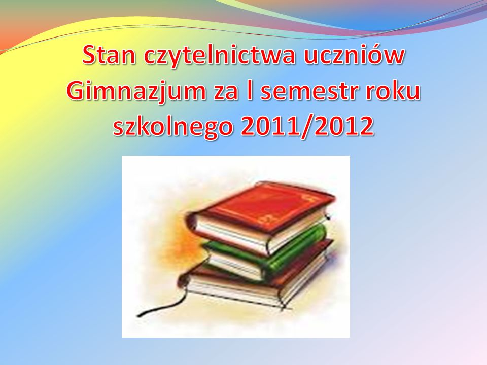 Ogólnie uczniowie Gimnazjum przeczytali 333 ksi ąż ki.
