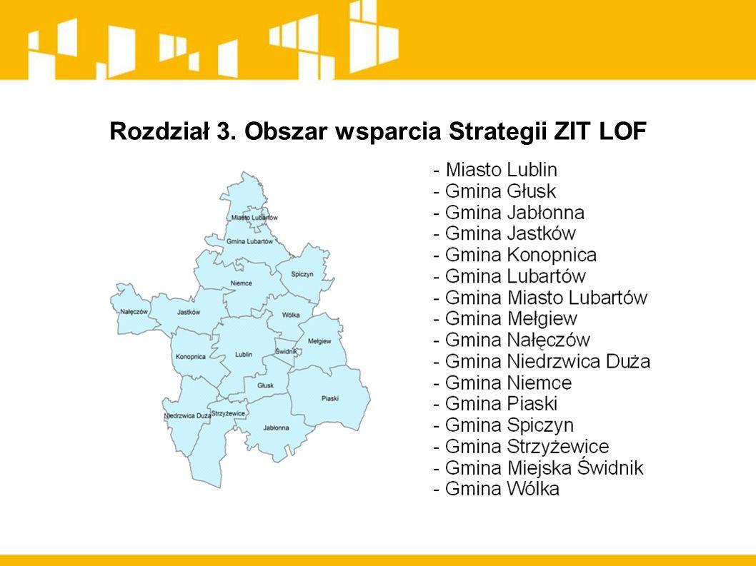 Rozdział 3. Obszar wsparcia Strategii ZIT LOF