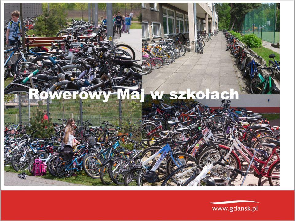 Rowerowy Maj w szkołach