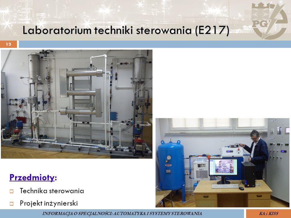 Laboratorium techniki sterowania (E217) 13 ZARZĄDZANIE BEZPIECZEŃSTWEM FUNKCJONALNYM IV SOPOT, 15-16 V 2013ZBF IV ProSIL-EALSEMINARIUM W RAMACH PROJEK