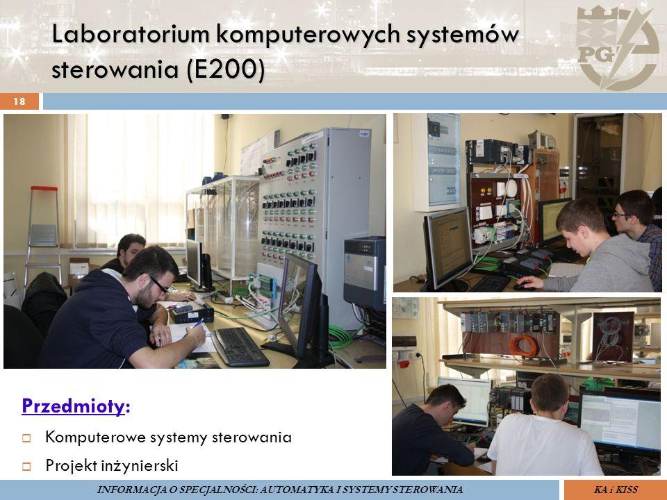 Laboratorium komputerowych systemów sterowania (E200) 18 Przedmioty:  Komputerowe systemy sterowania  Projekt inżynierski ZARZĄDZANIE BEZPIECZEŃSTWE