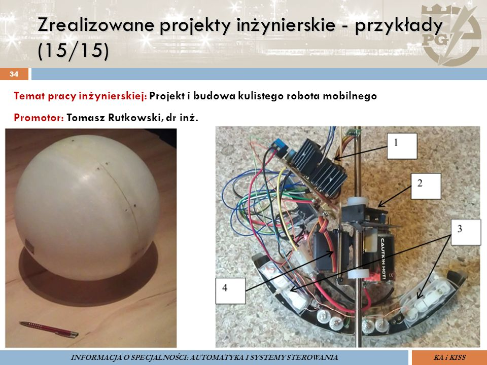 Zrealizowane projekty inżynierskie - przykłady (15/15) 34 ZARZĄDZANIE BEZPIECZEŃSTWEM FUNKCJONALNYM IV SOPOT, 15-16 V 2013ZBF IV ProSIL-EALSEMINARIUM