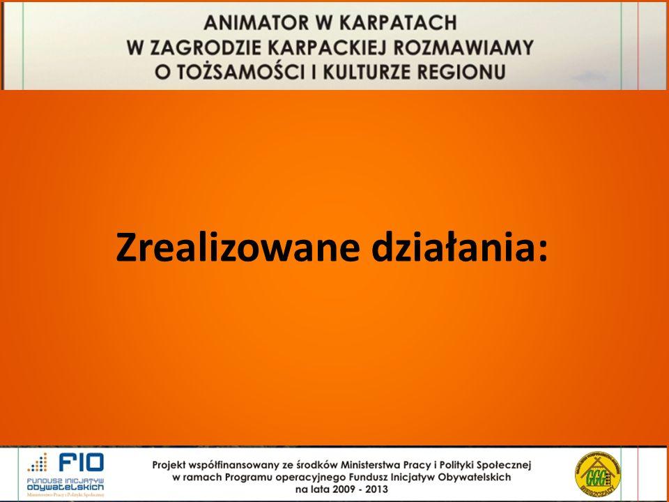Baza Zagród Karpackich www.bieszczady.podkarpackie.pl www.zagrodakarpacka.pl