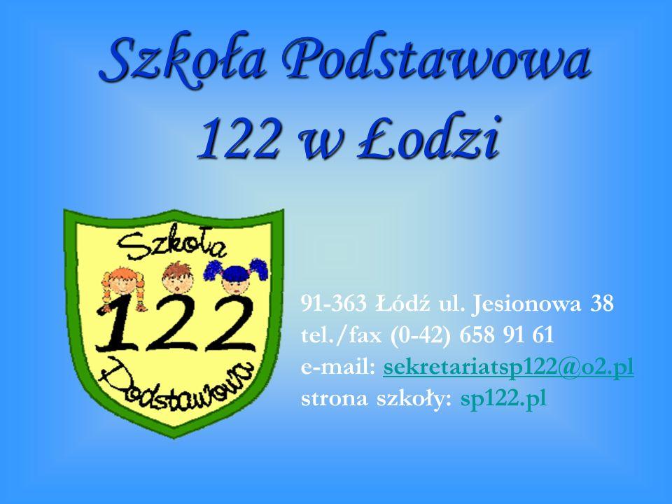 Szkoła Podstawowa 122 w Łodzi 91-363 Łódź ul.