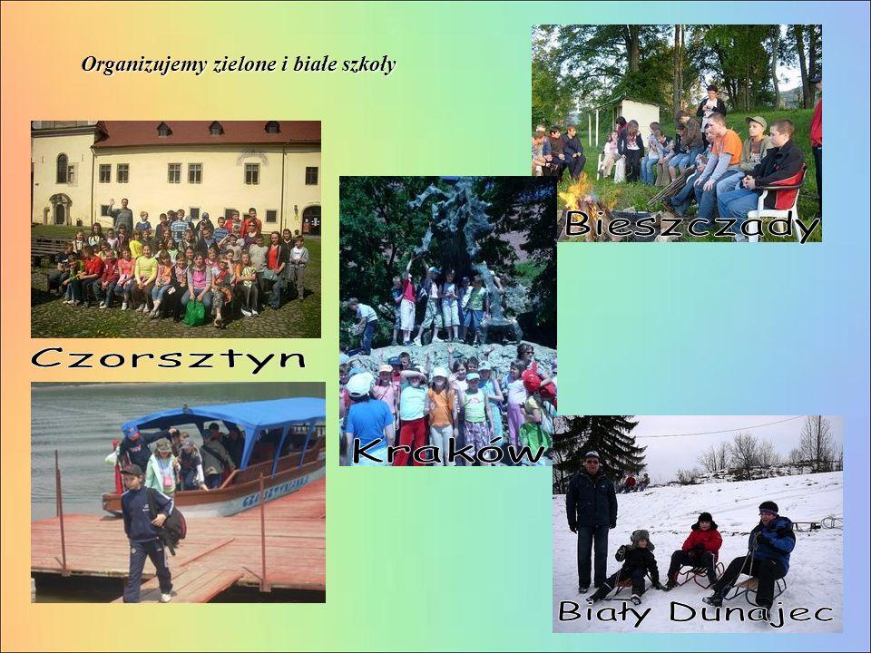 Organizujemy zielone i białe szkoły