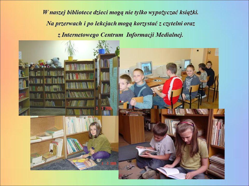 W naszej bibliotece dzieci mogą nie tylko wypożyczać książki.