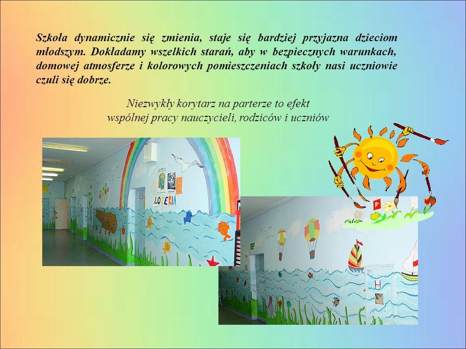 Szkoła dynamicznie się zmienia, staje się bardziej przyjazna dzieciom młodszym.