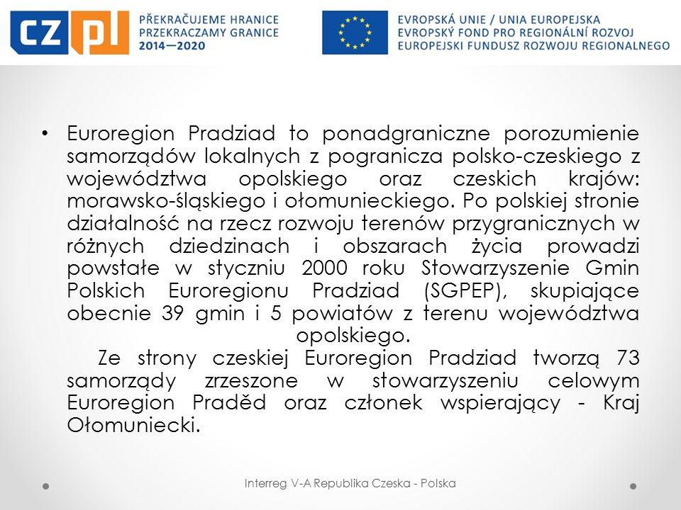 FUNDUSZ MIKROPROJEKTÓW W EUROREGIONIE PRADZIAD Fundusz Mikroprojektów (FM) jest instrumentem przeznaczonym do wspierania projektów o mniejszym zakresie finansowym, oddziałujących na obszar pogranicza na poziomie lokalnym.