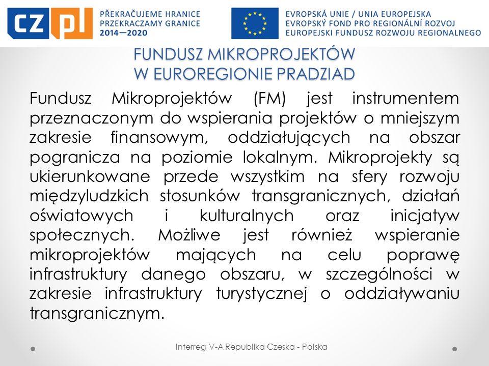 PODSTAWOWE KATEGORIE BENEFICJENTÓW Interreg V-A Republika Czeska - Polska  Władze publiczne, ich związki i stowarzyszenia  Organizacje powołane przez władze publiczne  Organizacje pozarządowe  Europejskie Ugrupowania Współpracy Terytorialnej  Kościoły i związki wyznaniowe  Stowarzyszenia i związki działające w obszarze turystyki  Instytucje systemu oświaty i szkoły wyższe  Izby, stowarzyszania, związki i organizacje samorządu gospodarczego i zawodowego  Izby, stowarzyszania, związki i organizacje reprezentujące interesy przedsiębiorców i pracowników oraz samorządu gospodarczego i zawodowego