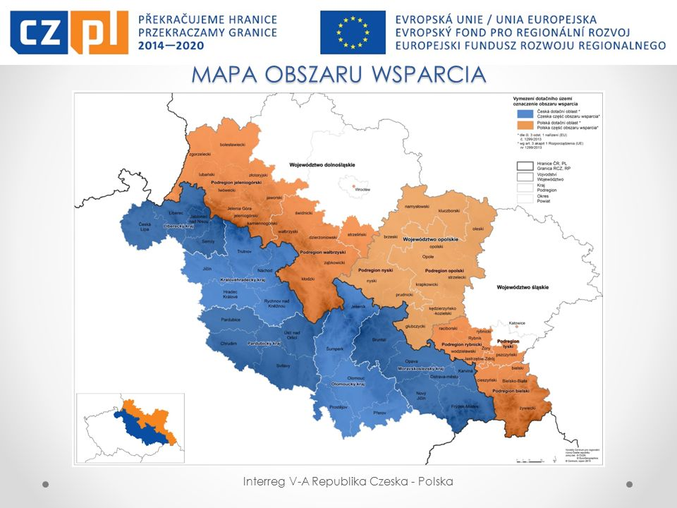 FUNDUSZ MIKROPROJEKTÓW W EUROREGIONIE PRADZIAD Interreg V-A Republika Czeska - Polska Mikroprojekt indywidualny (Typ C) – składany tylko przez jednego partnera.