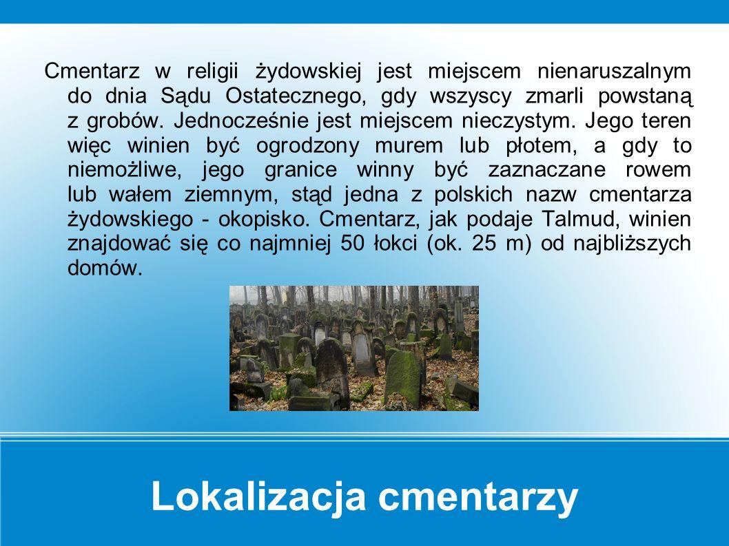 Kirkuty Kirkut, kierkow, kierchol - to najpowszechniej używane przez Polaków określenie na cmentarz żydowski.