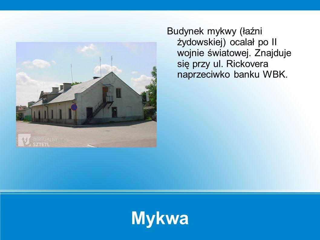 """Ohel Archiwalne zdjęcie cmentarza żydowskiego w Makowie (""""Księga Pamięci Makowa Maz. )."""