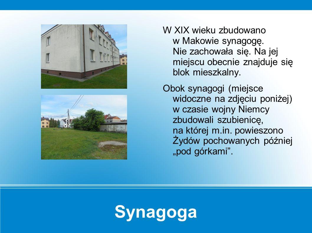 Dom kahalny Dom kahalny w Makowie - siedziba gminy żydowskiej.