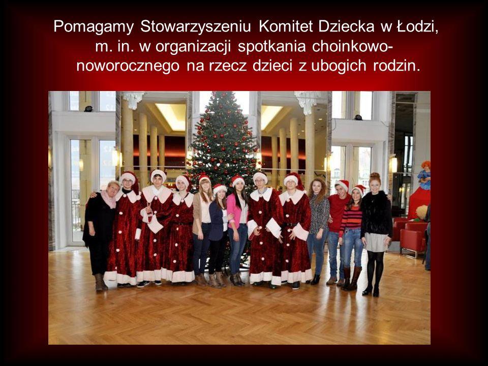 Pomagamy Stowarzyszeniu Komitet Dziecka w Łodzi, m.