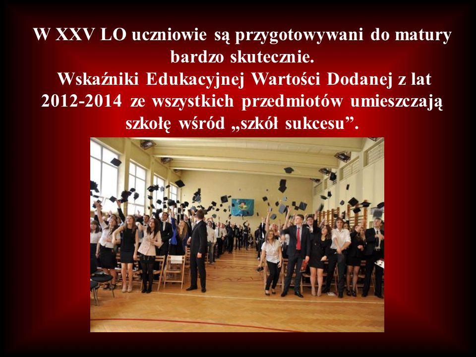 Co roku kilkudziesięciu uczniów zostaje laureatami ogólnopolskich i wojewódzkich konkursów!