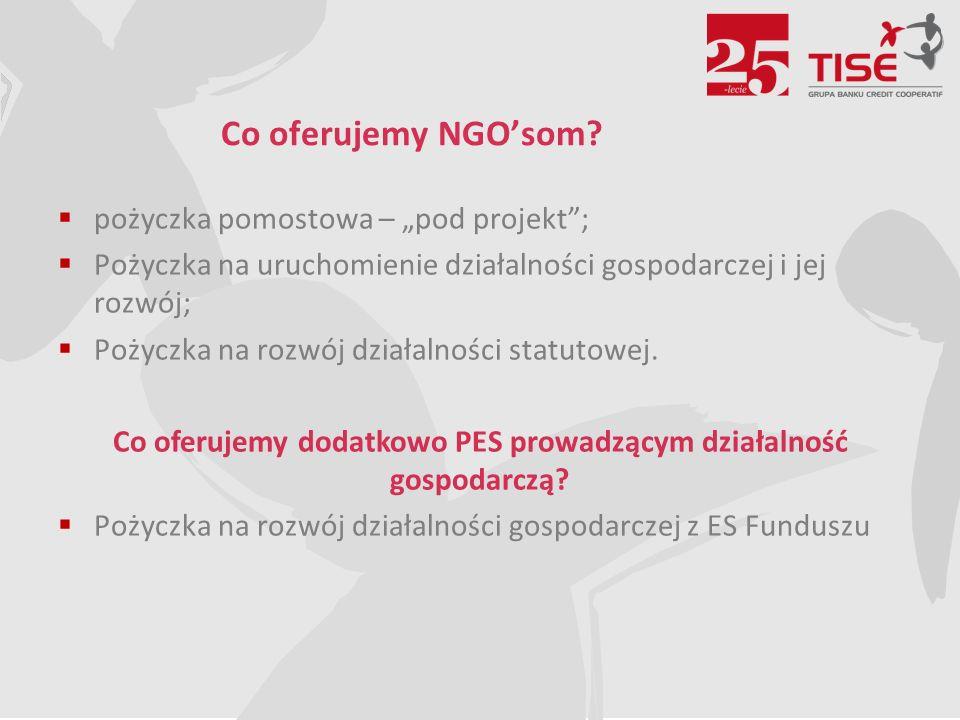 Co oferujemy NGO'som.