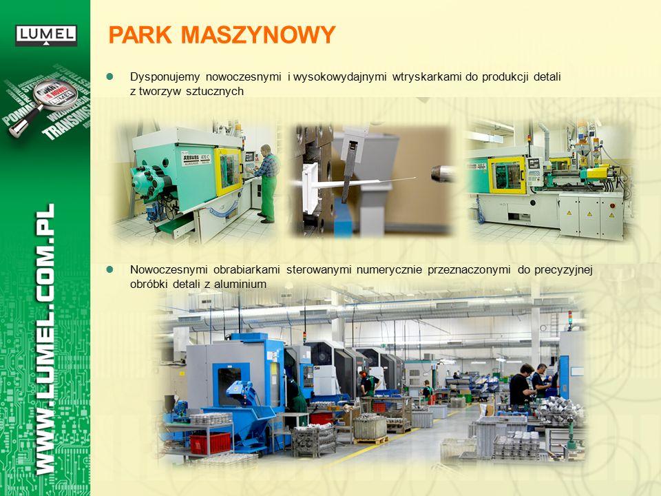 Dysponujemy nowoczesnymi i wysokowydajnymi wtryskarkami do produkcji detali z tworzyw sztucznych PARK MASZYNOWY Nowoczesnymi obrabiarkami sterowanymi