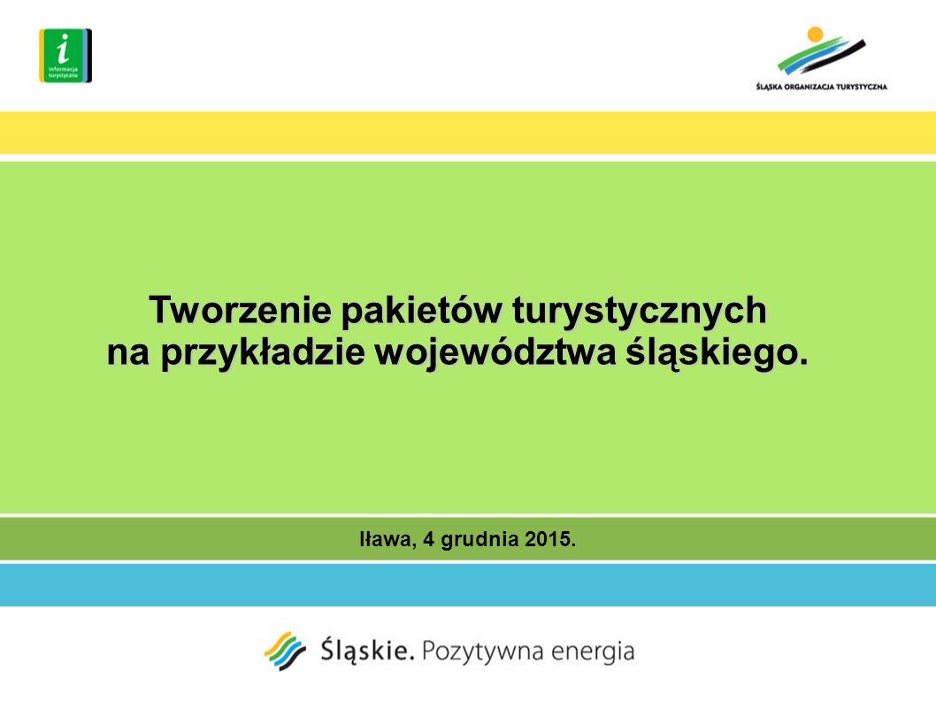 Iława, 4 grudnia 2015. Tworzenie pakietów turystycznych na przykładzie województwa śląskiego.