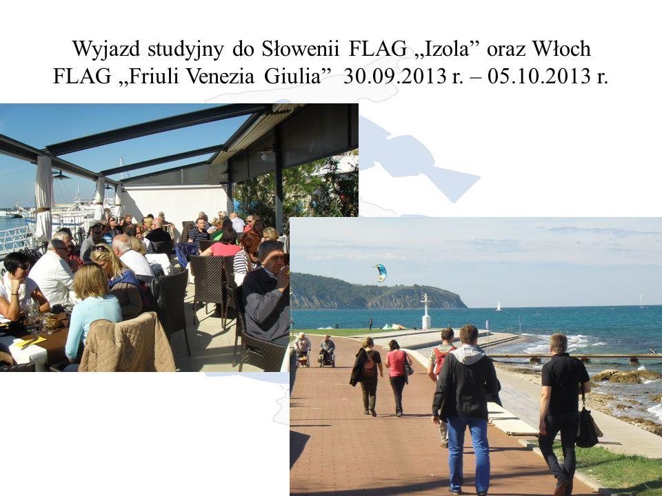"""Wyjazd studyjny do Słowenii FLAG """"Izola oraz Włoch FLAG """"Friuli Venezia Giulia 30.09.2013 r."""
