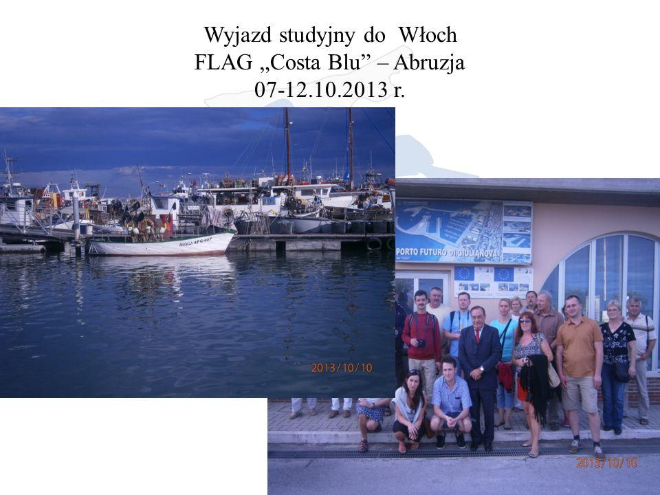 """Wyjazd studyjny do Włoch FLAG """"Costa Blu – Abruzja 07-12.10.2013 r."""