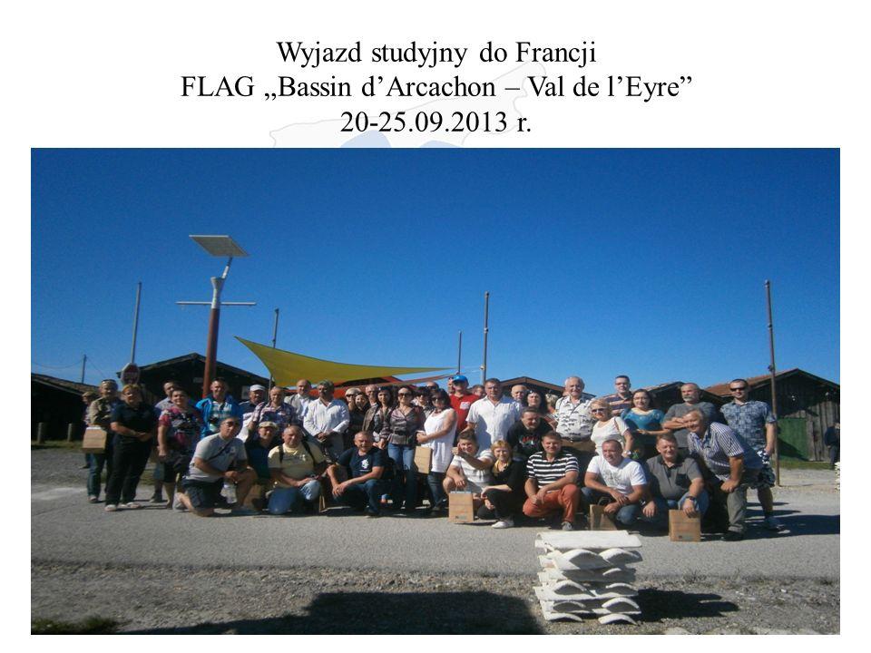 "Wyjazd studyjny do Francji FLAG ""Bassin d'Arcachon – Val de l'Eyre 20-25.09.2013 r."