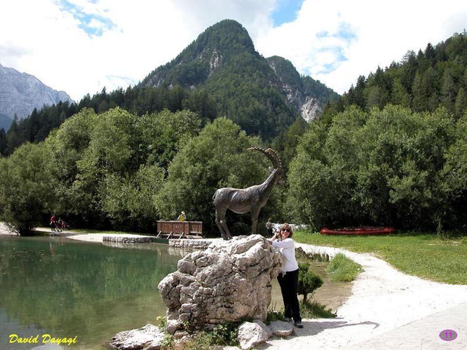 10 Vrsic w Alpach Julijskich