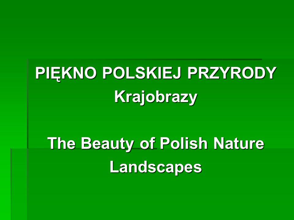 PIĘKNO POLSKIEJ PRZYRODY Krajobrazy The Beauty of Polish Nature Landscapes