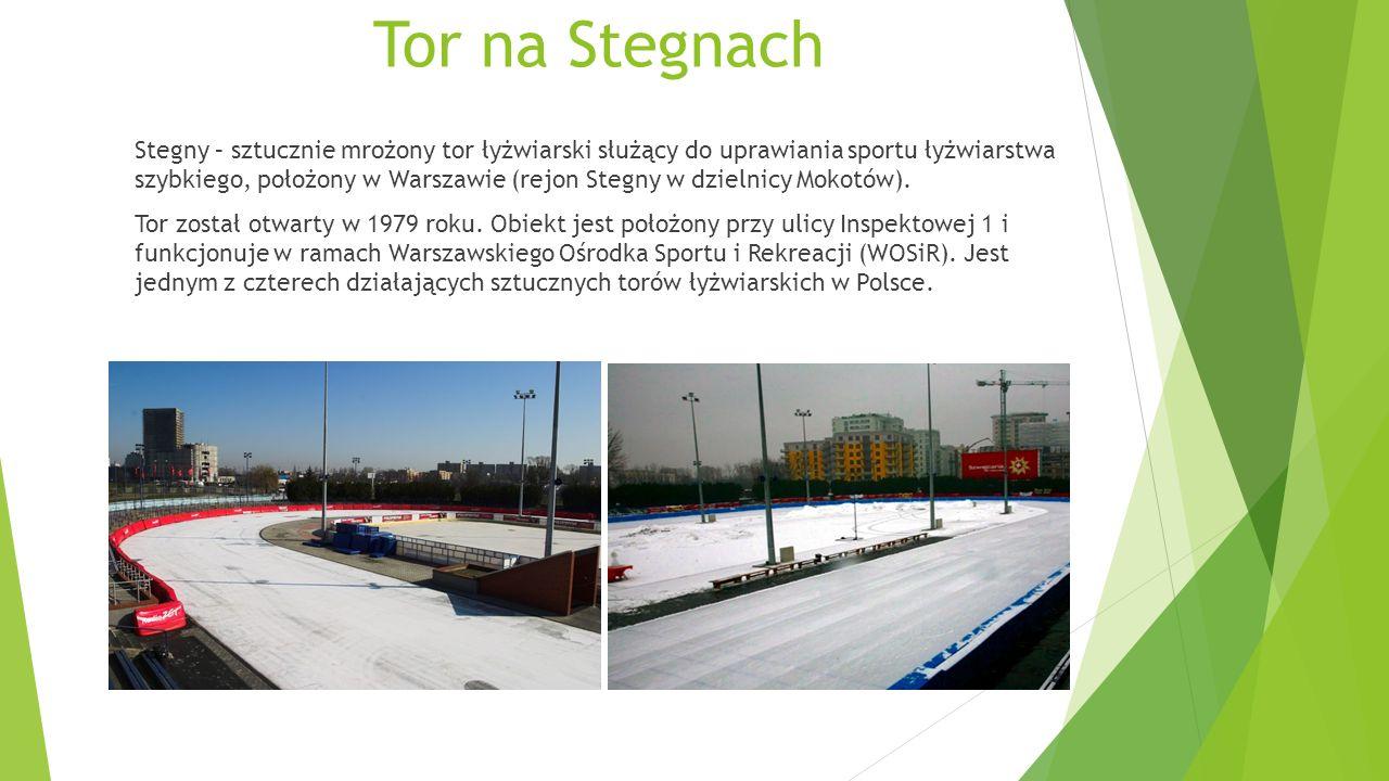 Warszawianka - basen Olimpijski, park wodny Powstanie Warszawianki jest związane z dwoma stołecznymi drużynami piłkarskimi.
