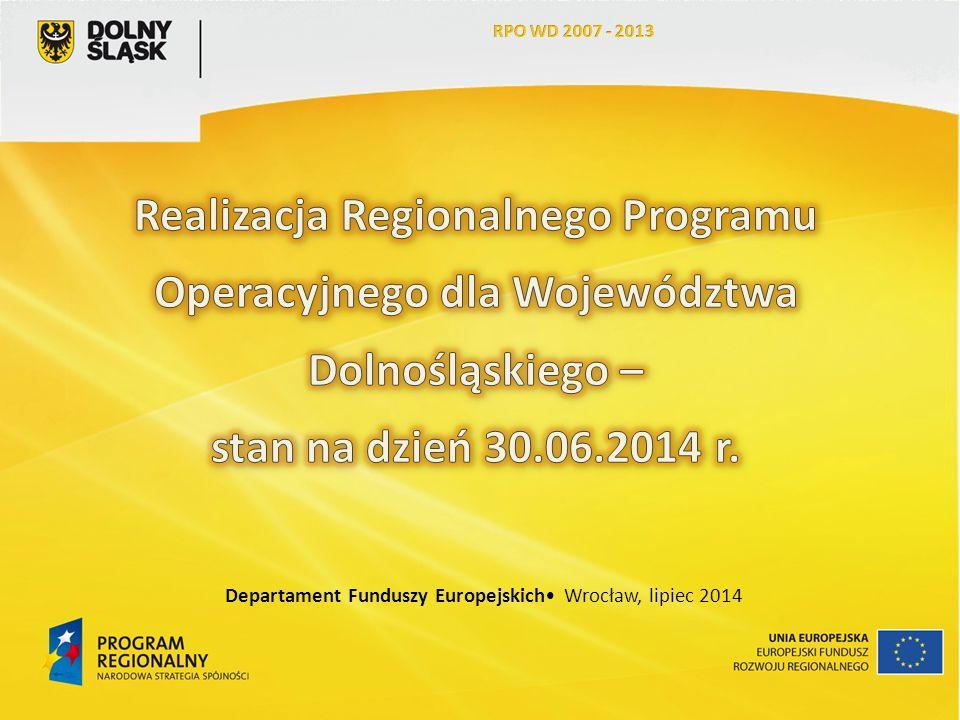 13 Jednostki samorządu terytorialnego odpowiadają za realizację 765 projektów.