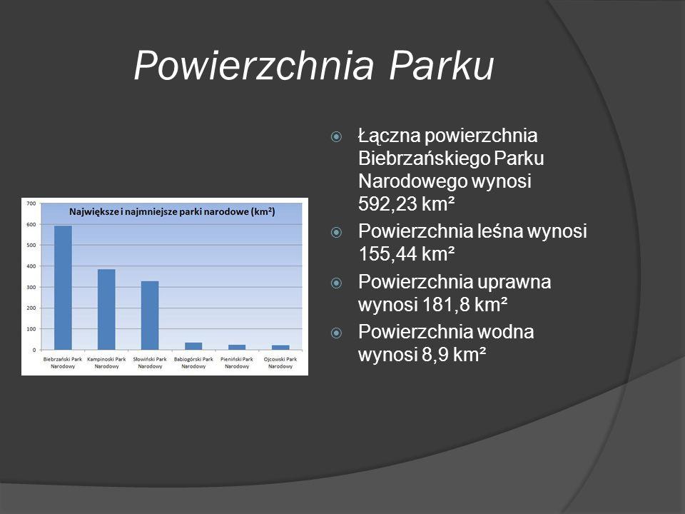 Strefy ochrony  Powierzchnia ochrony ścisłej wynosi 50,75 km²  Powierzchnia ochrony częściowej wynosi 278,85 km²  Powierzchnia ochrony krajobrazowej wynosi 262,63 km²